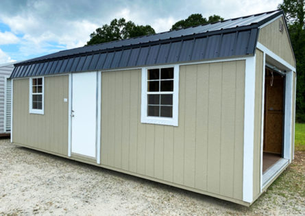 12x24 Frontier Garage Shed thumbnail