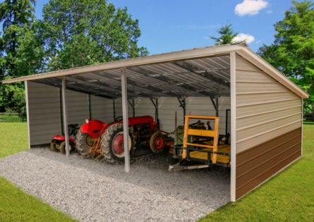 15x30x9/6 Loafing Shed thumbnail